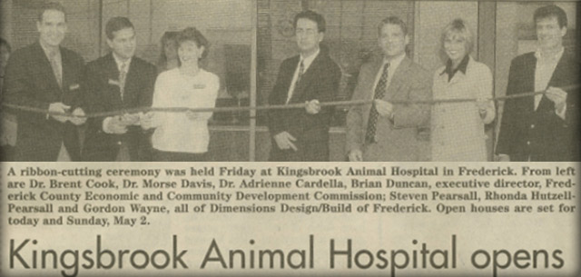 Meet our Receptionists, Veterinarian at Kingsbrook Animal Hospital