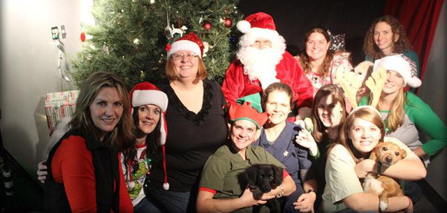 santa paws at kingsbrook animal hospital